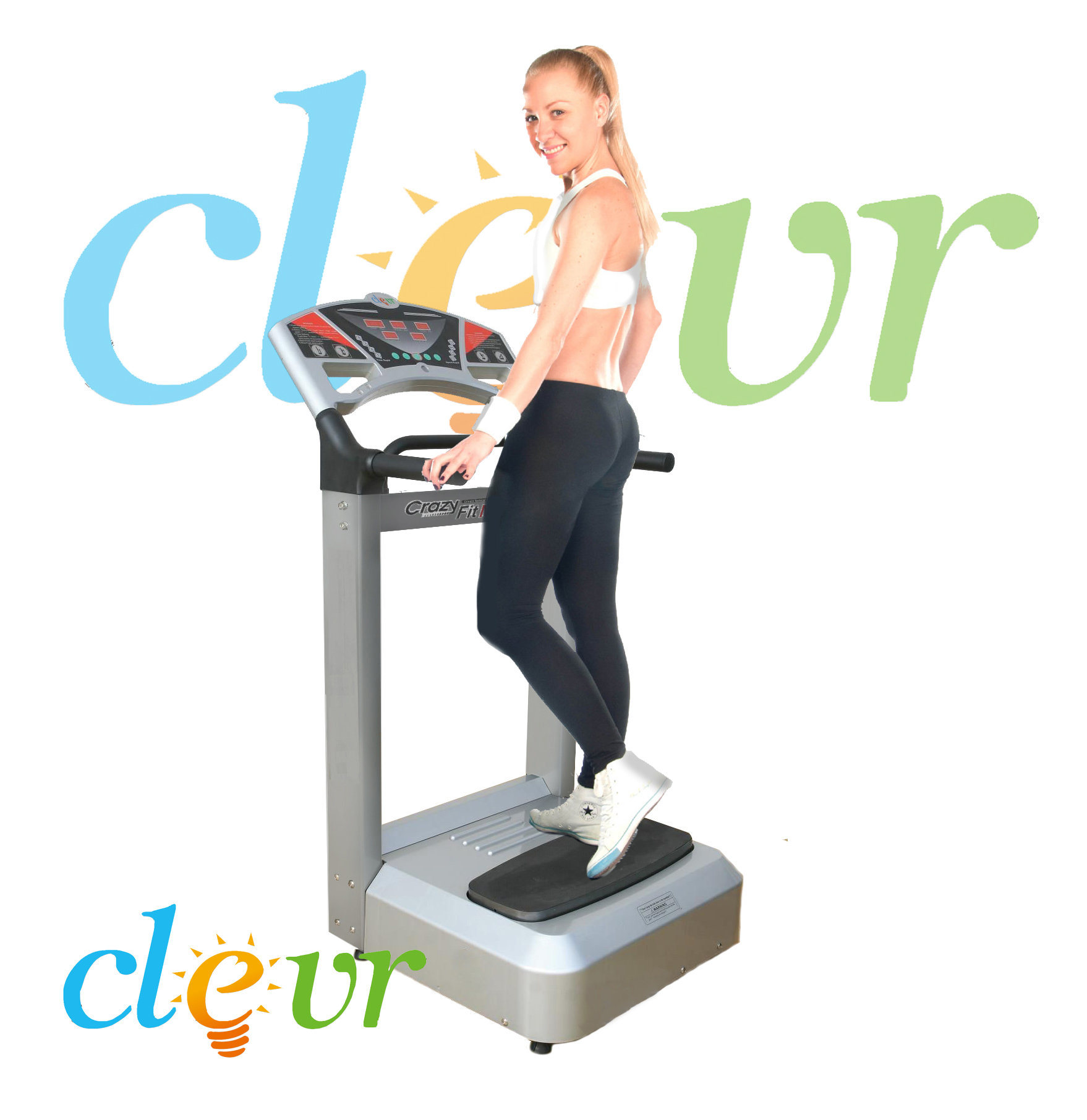 Clevr? Pro 1000w Full Body Vibration Massage Machine Platform Crazy Fitness Harmonics at Sears.com