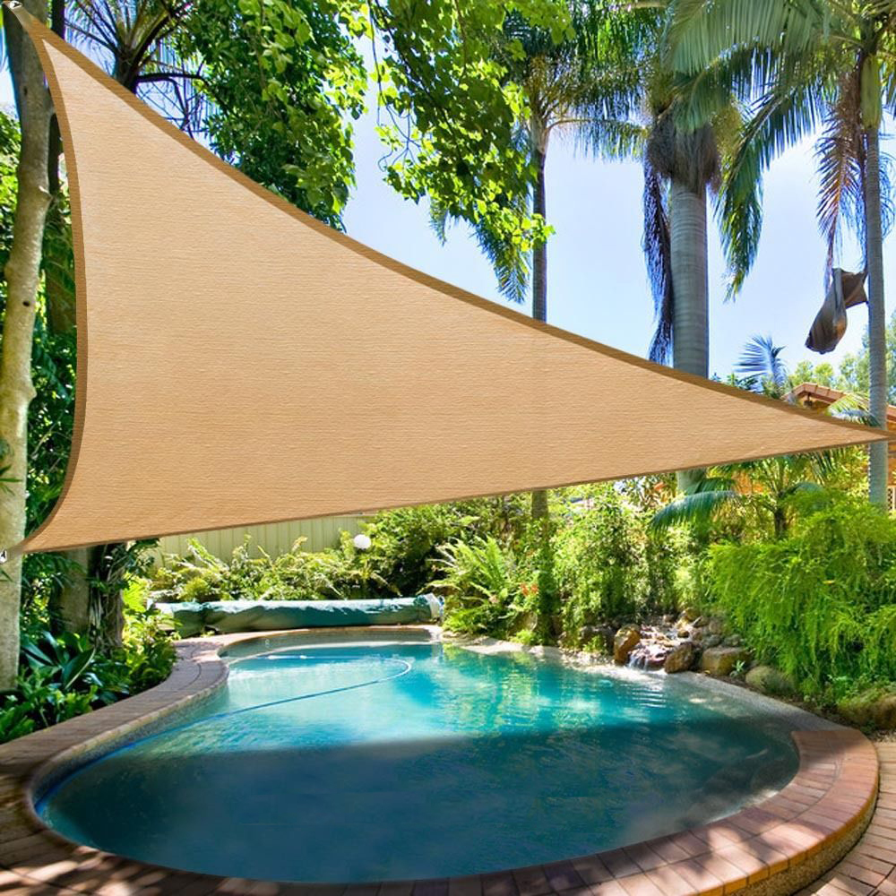 Clevr Outdoor Patio UV Sun Shade Sail Canopy