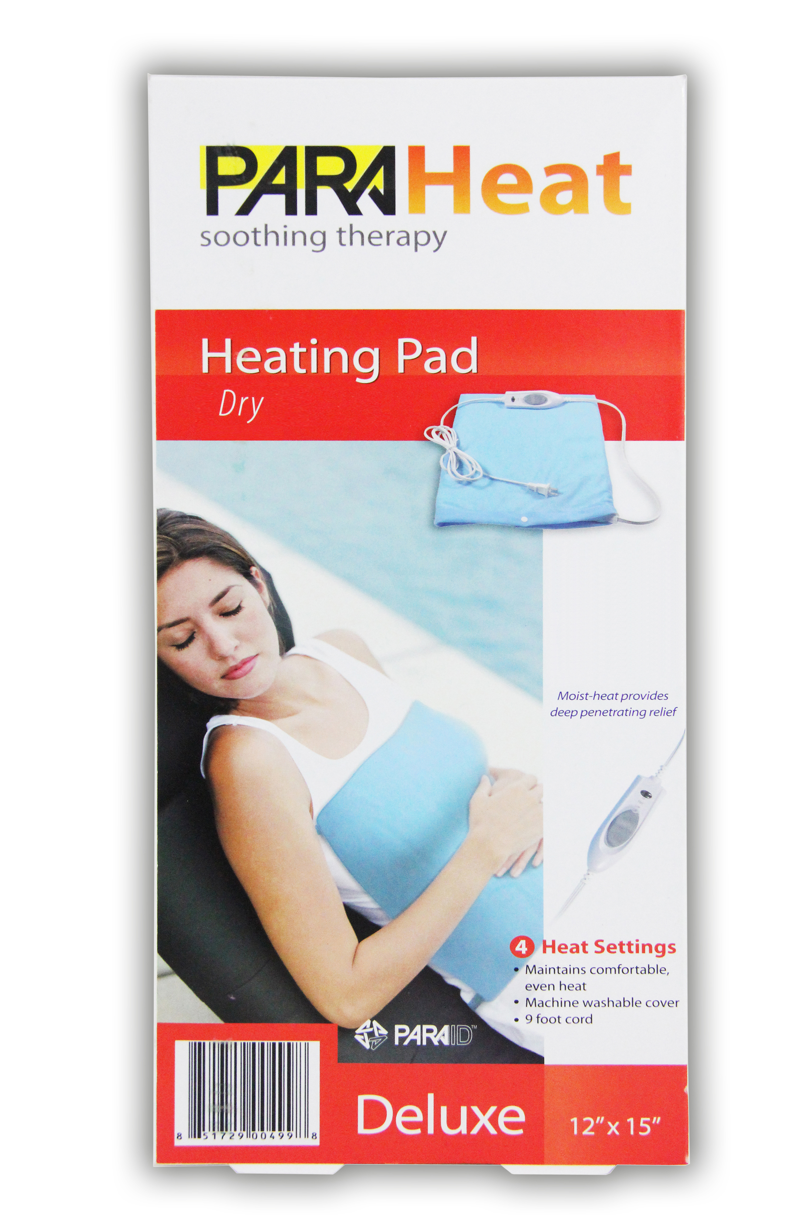"Planet International ParaHeat Electric Heating Pad 12"" x 15"" Blanket Arthritis Muscle Therapy NEW! at Sears.com"