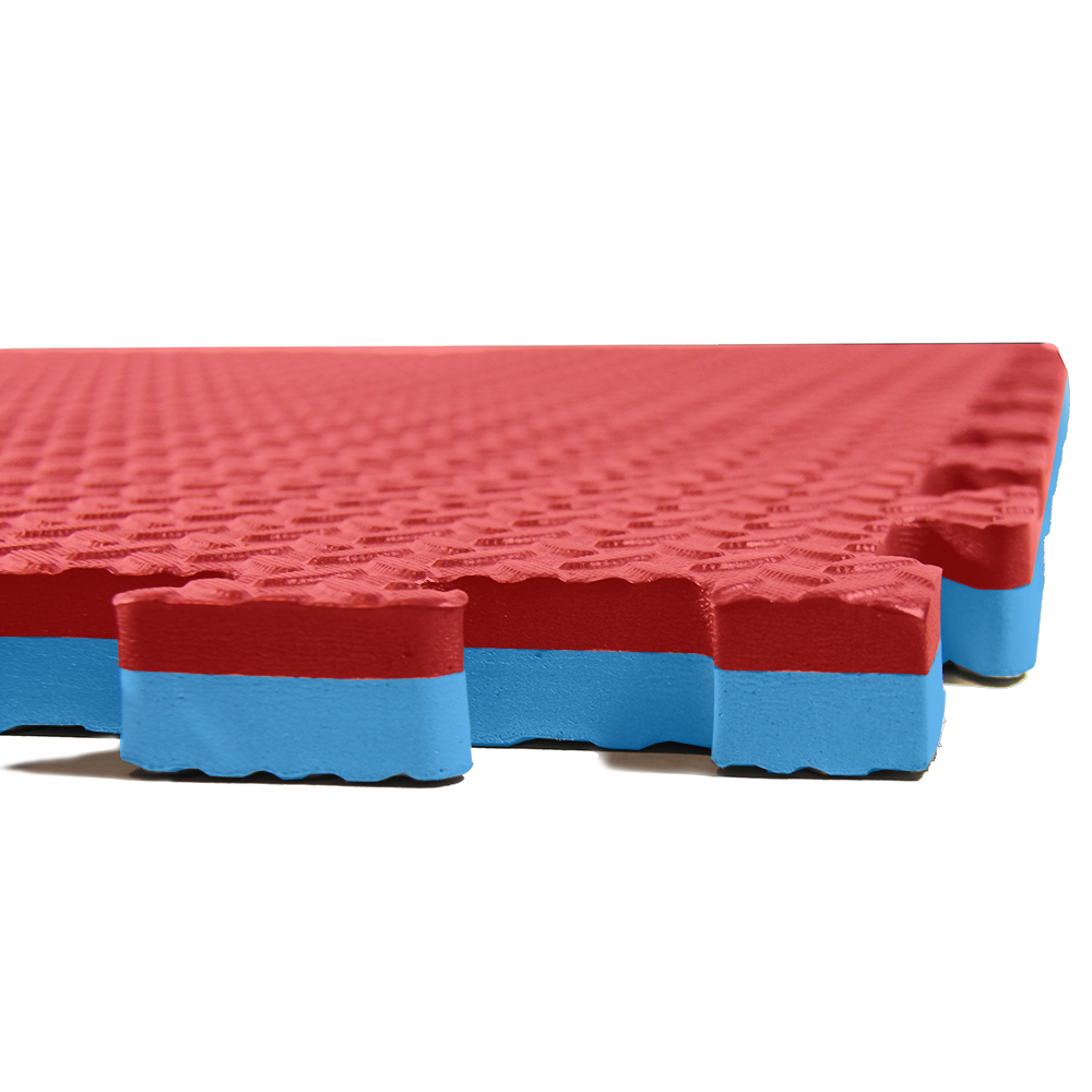 "Clevr 1"" Extra Thick EVA Foam Mat Interlocking Gym 12pcs"