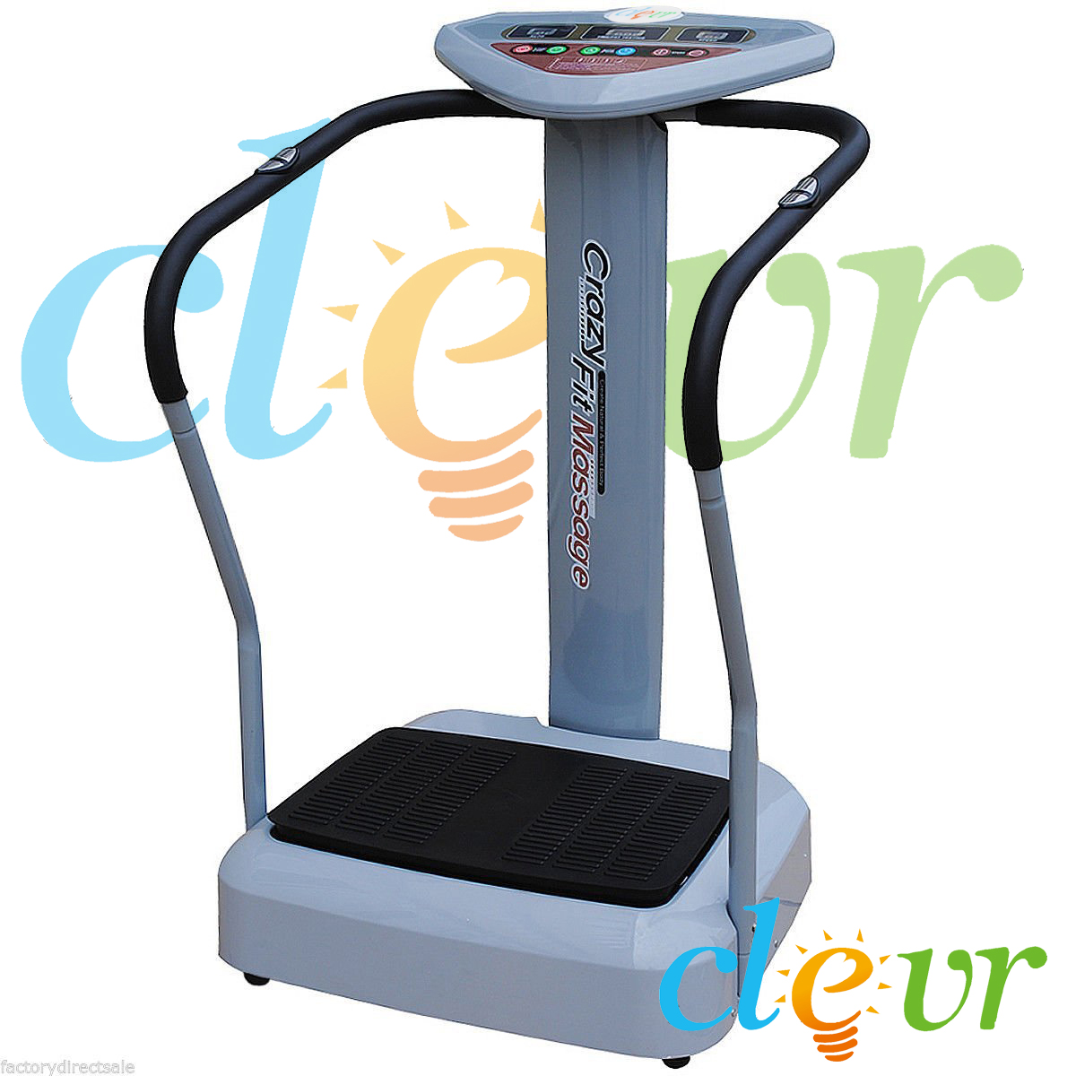 1000w pro crazy fit full body vibration massage machine platform massage fitness ebay. Black Bedroom Furniture Sets. Home Design Ideas