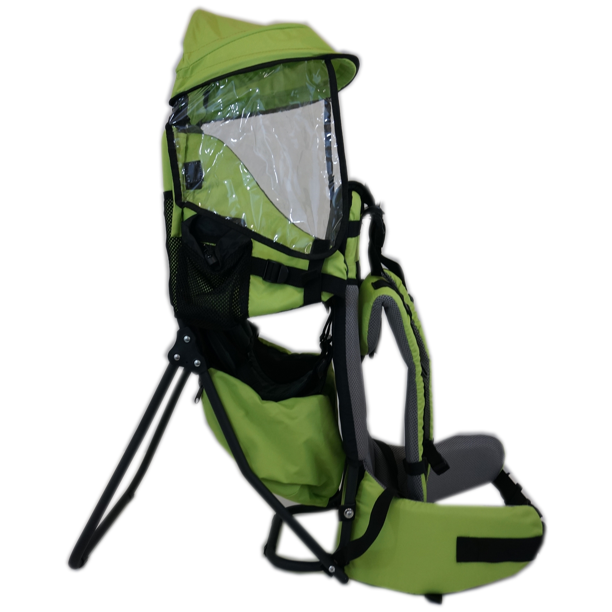New clevr baby backpack cross country carrier green w for Stand pack