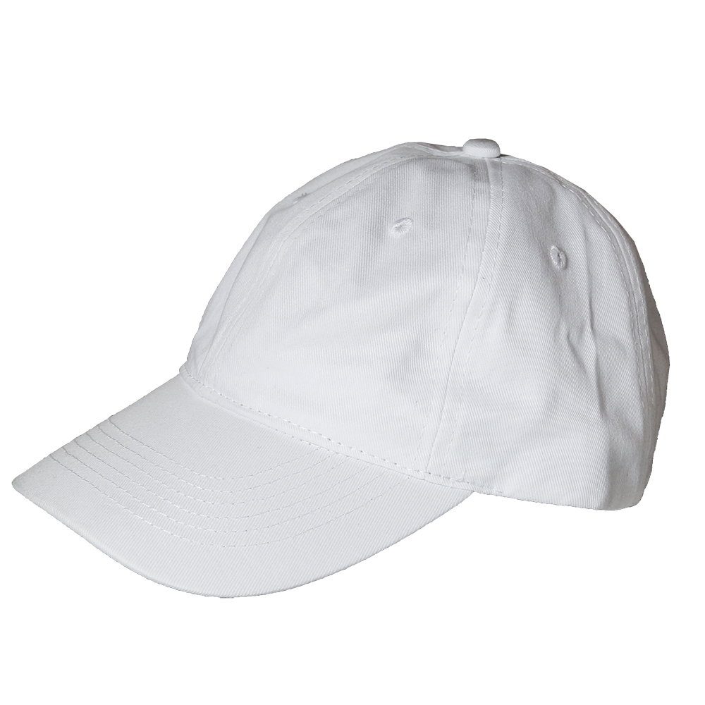 NEW Plain Solid Washed Cotton Polo Baseball Ball Cap Hat ...