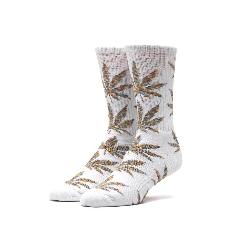 fd677b9d86a8 HUF Worldwide Authentic Fall  15 Adult Crew Socks - Melange Plantlife -  Options