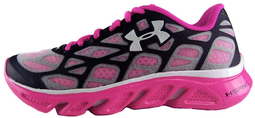 Fantastic Under Armour Womens Micro G Mantis NM Sz 6 Running Shoes PinkGreen