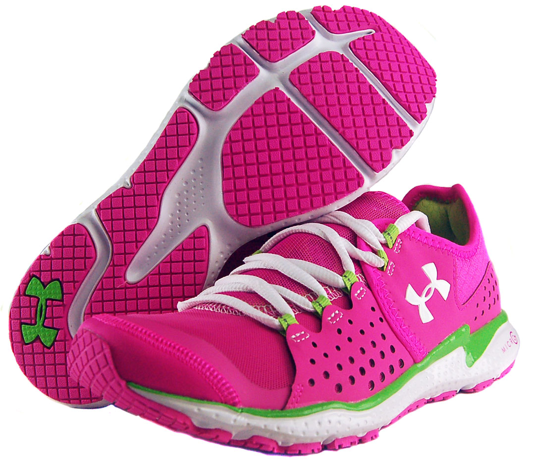 New Under Armour Spine RPM Pink Ribbon Running Shoes Womens  Wantster