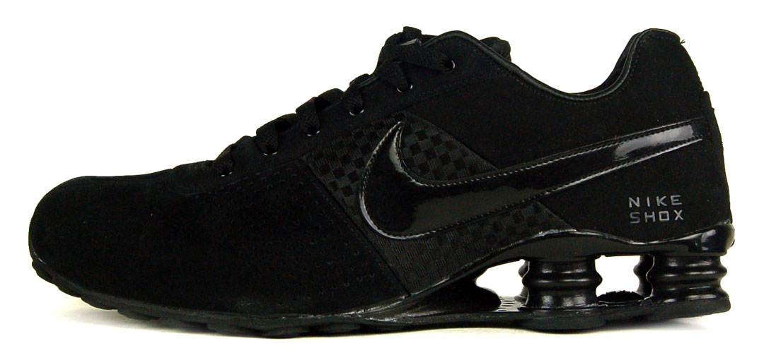"""""""Nike Shox Deliver Sz 11 Mens Running Shoes Black/Anthracite"""""""