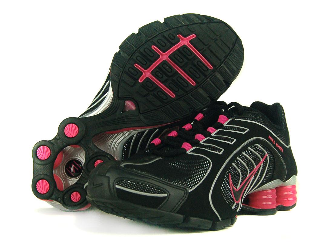 360545a51a8 Nike Womens Shox Navina Sz 8.5 Running Shoes Black on PopScreen