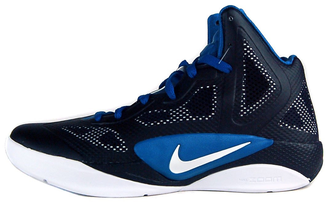Nike Zoom Hyperfuse 2011 TB Sz 8 Mens Basketball Shoes ...