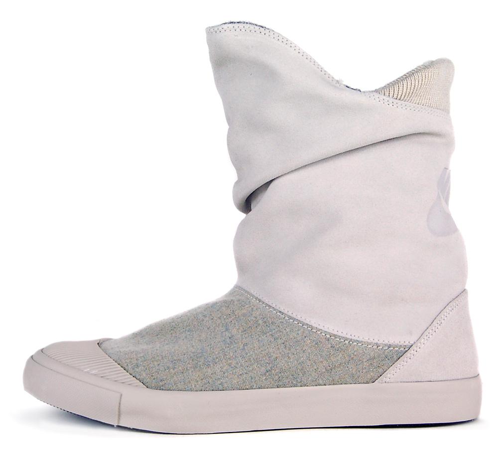 """Nike Womens Glencoe Warrior Suede Sz 6.5 Urban Boots Beige/Brown"""