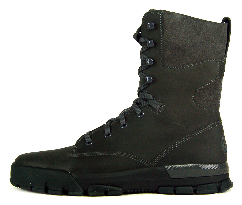 """Nike Air Nevist-9 Premium Sz 9 Mens Hiking Boots Grey/Orange"""