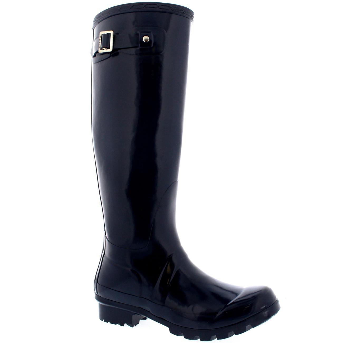 womens original gloss rubber snow knee high winter