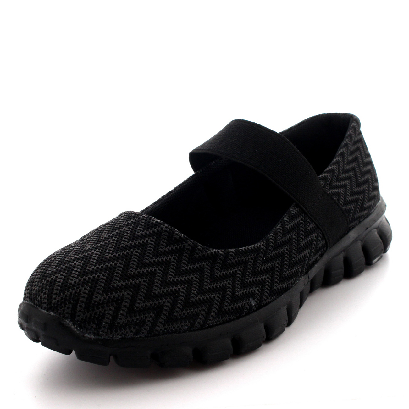 Womens Running Walking Low Top Sports Work Shoes Gym Mary ...