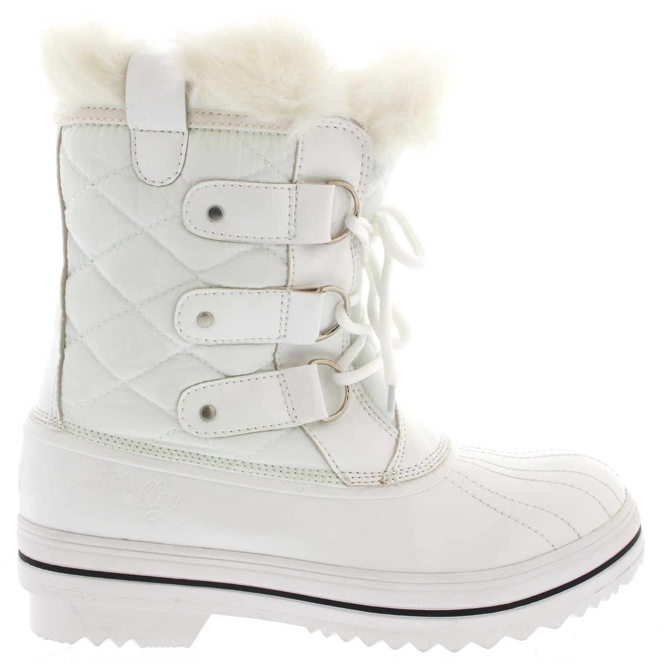 Fantastic Details About Womens Snow Boot Nylon Short Winter Snow Fur Rain Warm