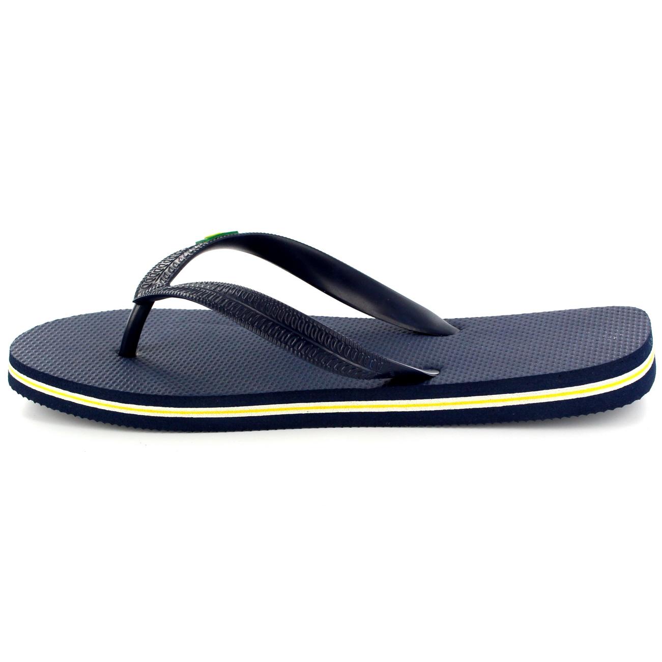 Sandals shoes holidays - Mens Brazil Logo Beach Summer Brasil Holiday Sandals