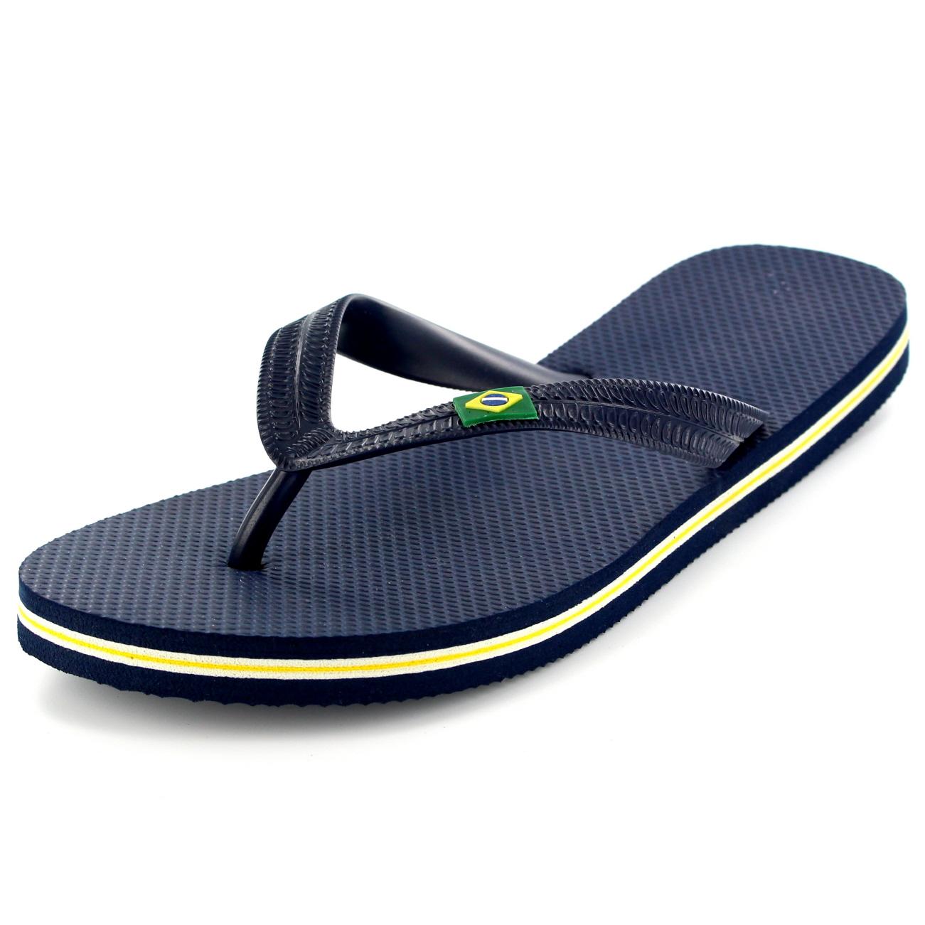 mens brazil logo beach summer brasil holiday sandals shoes. Black Bedroom Furniture Sets. Home Design Ideas