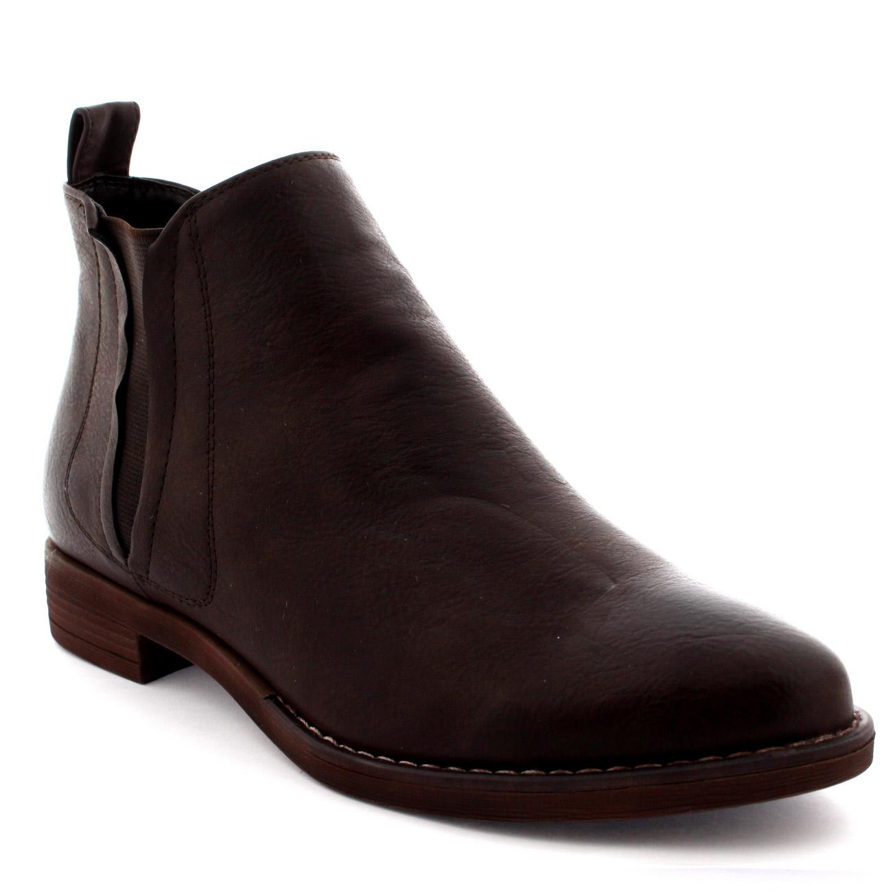 Consealed V Shape Chelsea Boots