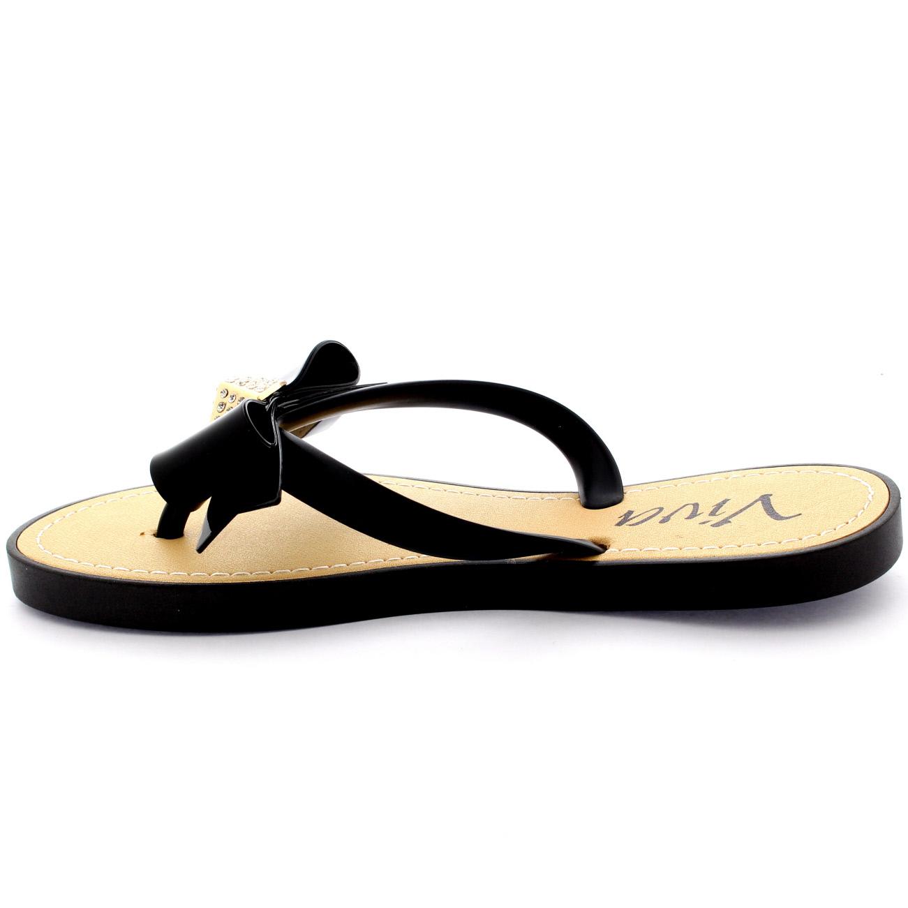 Womens sandals uk - Womens Sandals Summer Holiday Festival Bow Diamante Slip