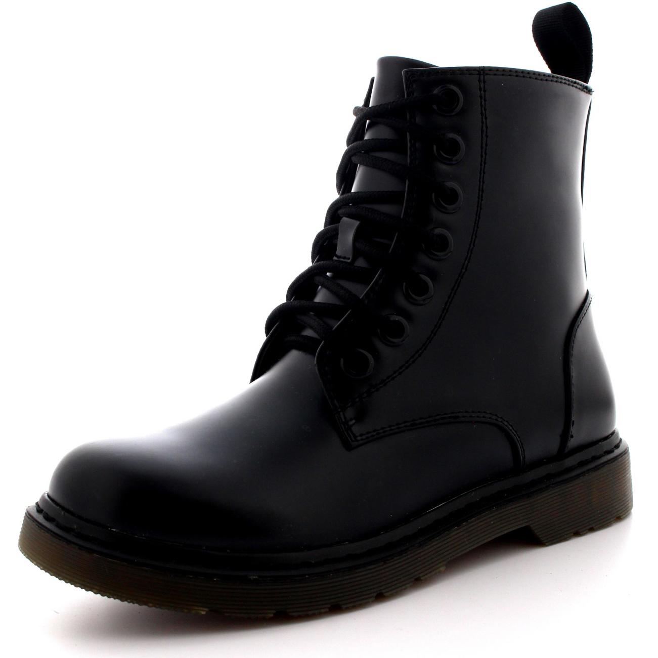 Elegant Vintage Black Diamond Combat Boots With Fringe Womenu0026#39;s 7