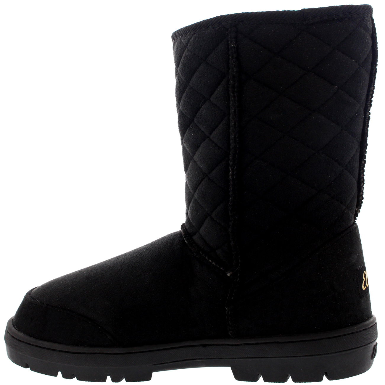 Beautiful Details About Womens Snow Boot Nylon Short Winter Snow Fur Rain Warm