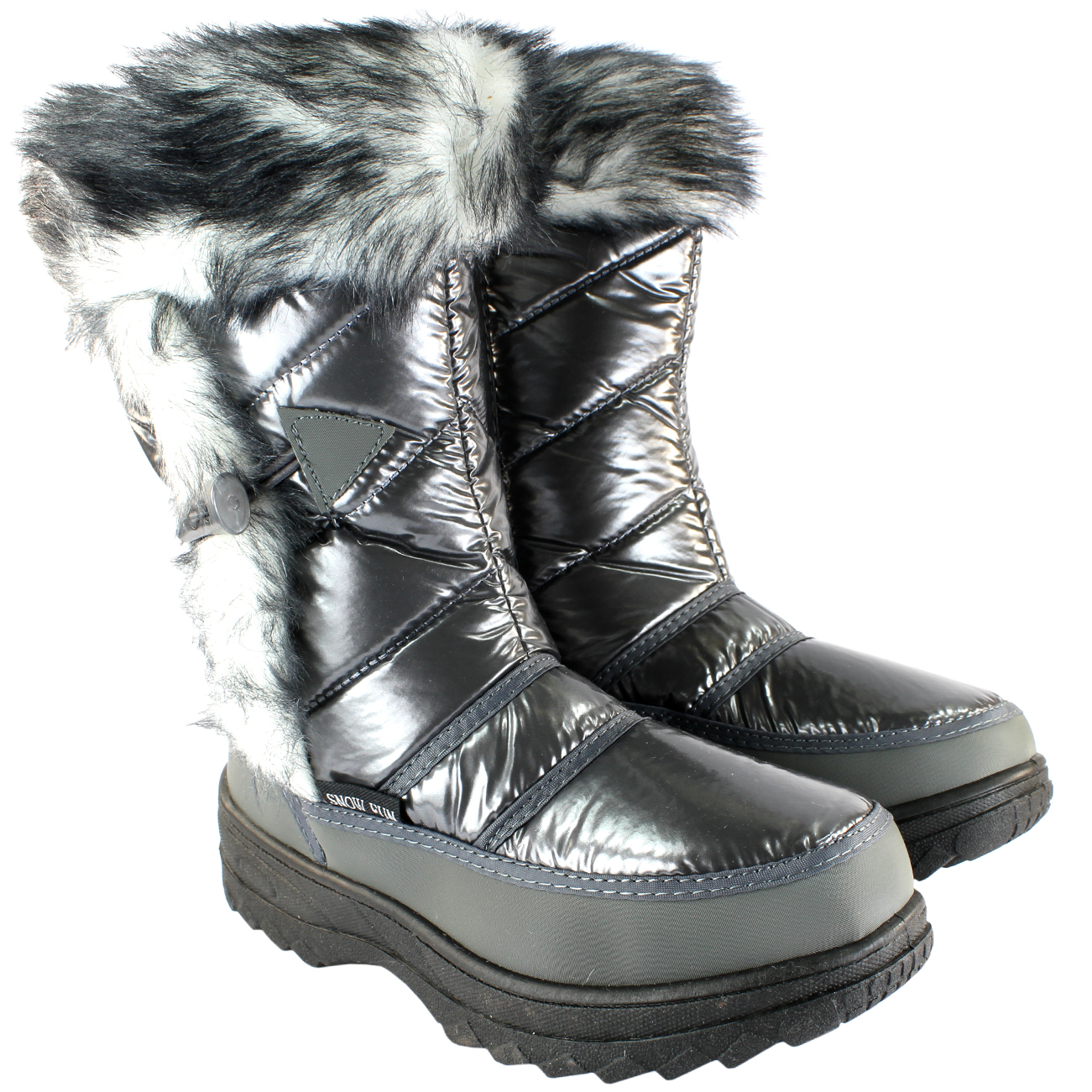 Fur Lined Winter Snowboots