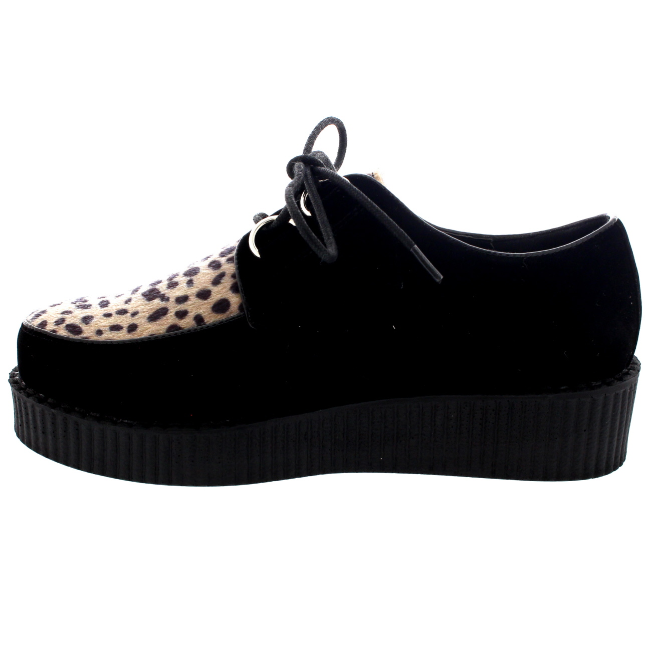 womens beetle crushers retro brothel creeper