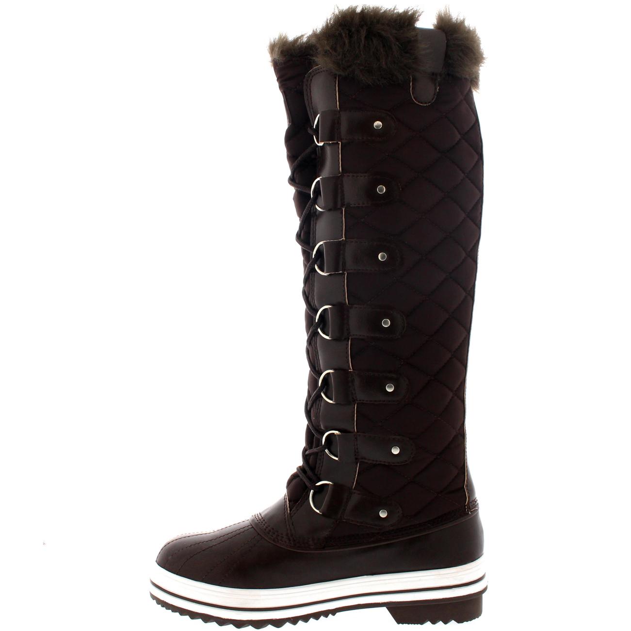 Womens knee high winter boots