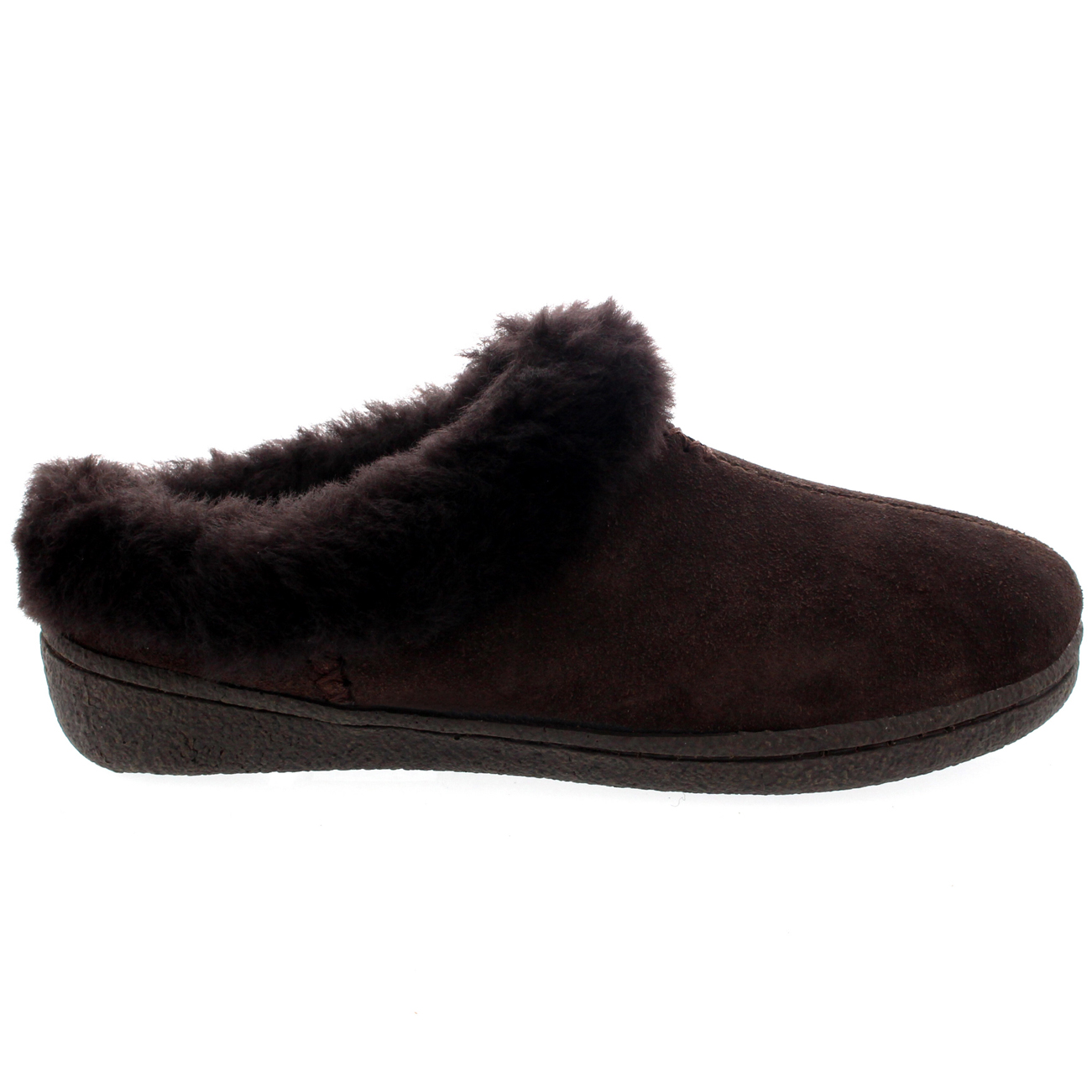 Fur Lined Womens Slipper Shoes Mules