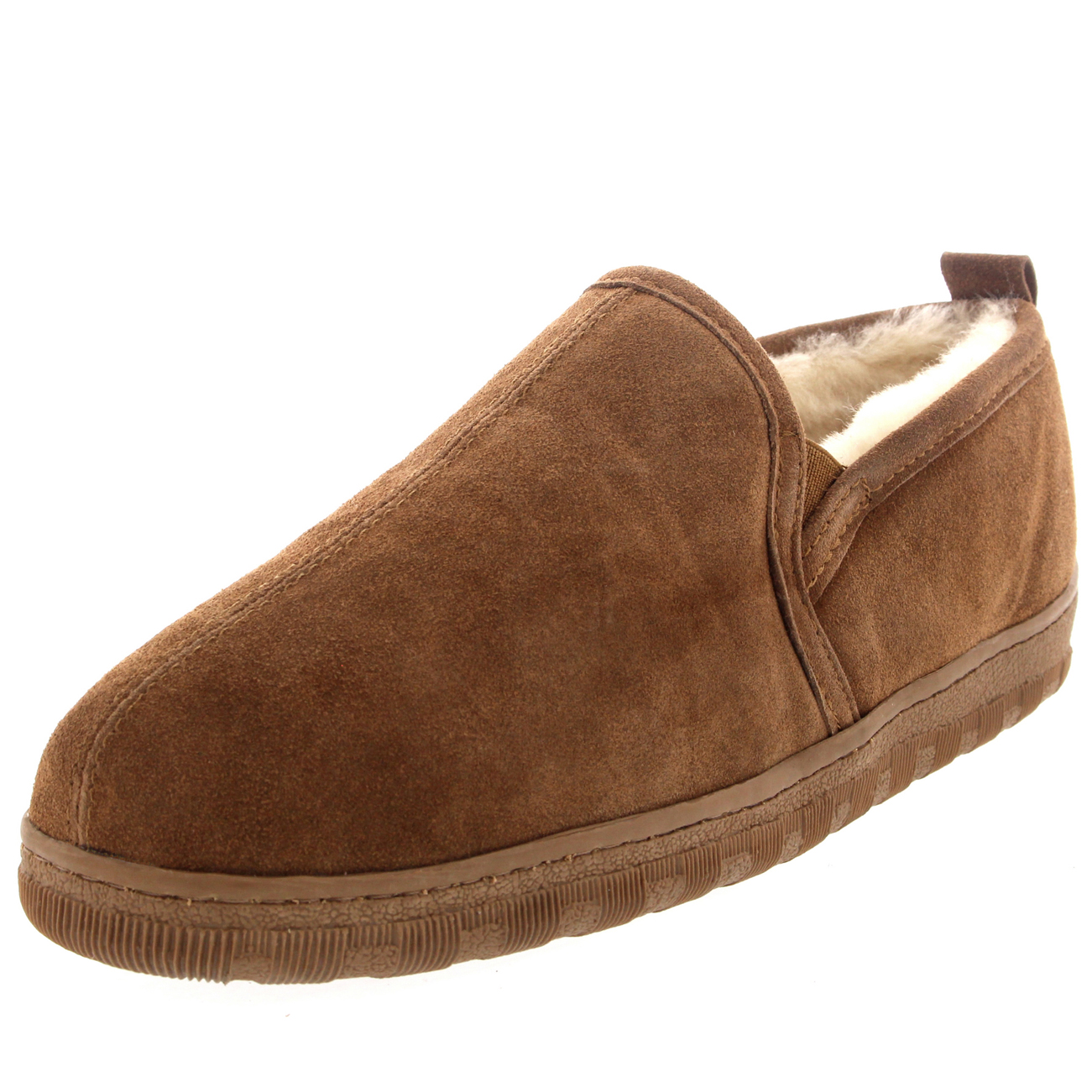 Men S Winter Wool Slip On Shoes