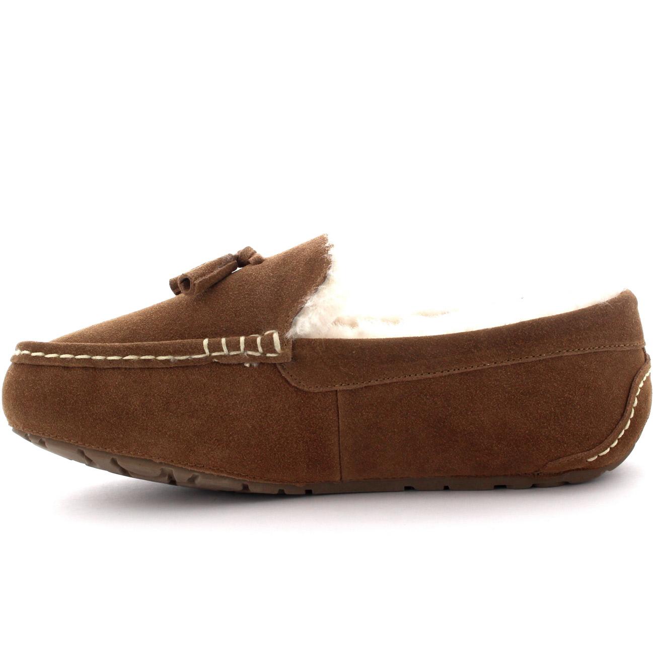 Mens Tassel Slipper Shoes