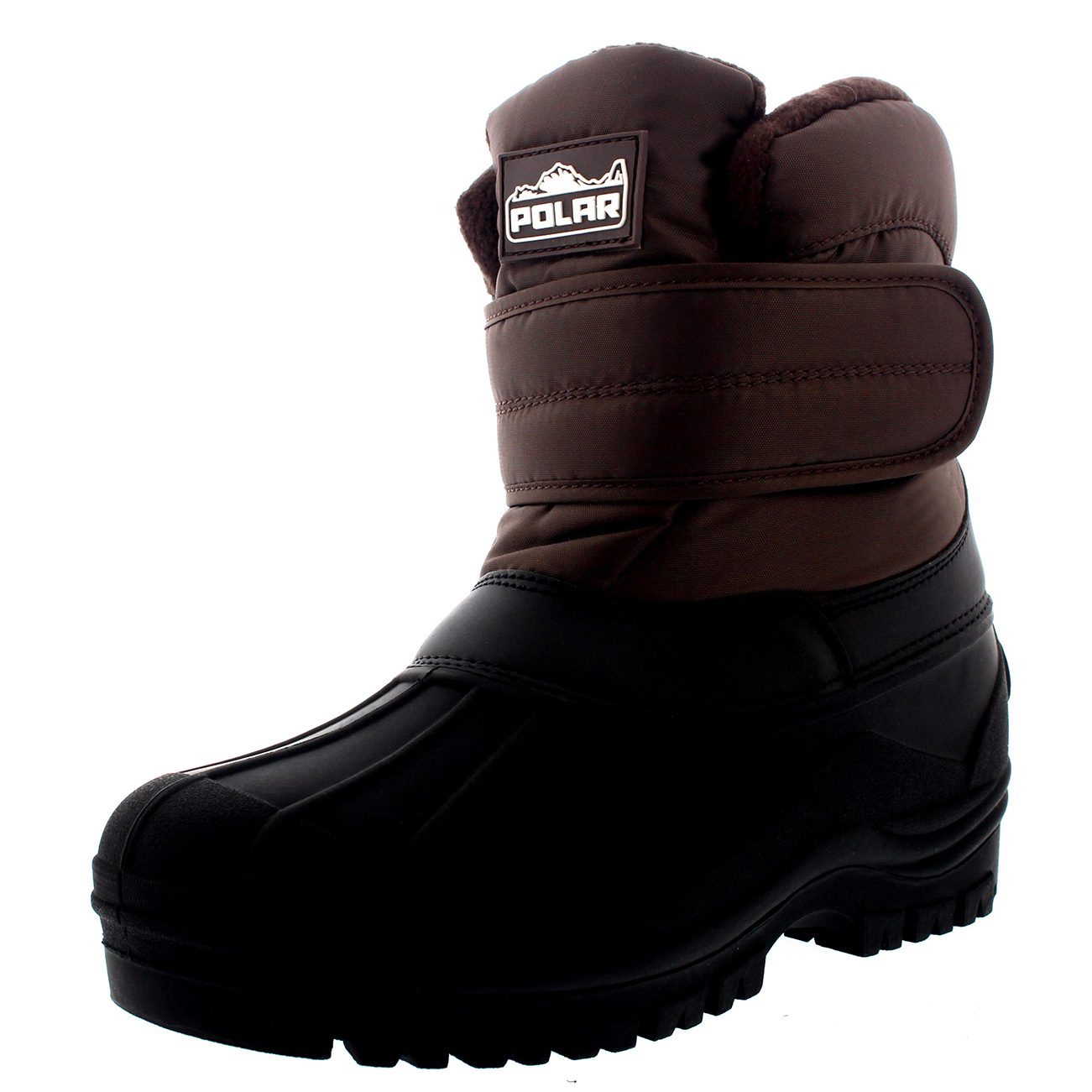 Womens Nylon Single Strap Waterproof Stable Hiking Thermal Mid Calf Boot UK 3-10