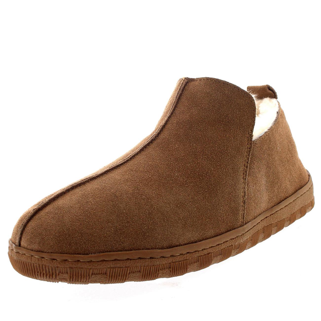 mens australian sheepskin genuine fur lined boot rubber