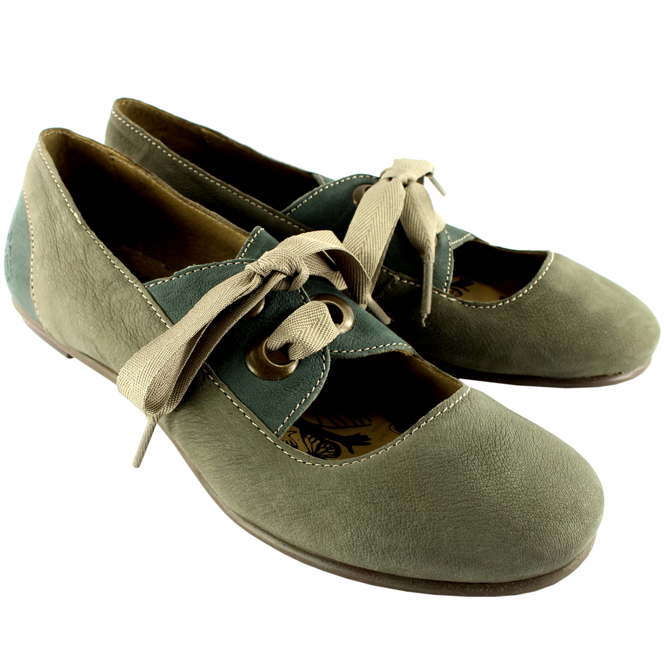 Fly London FYR Flat Shoes
