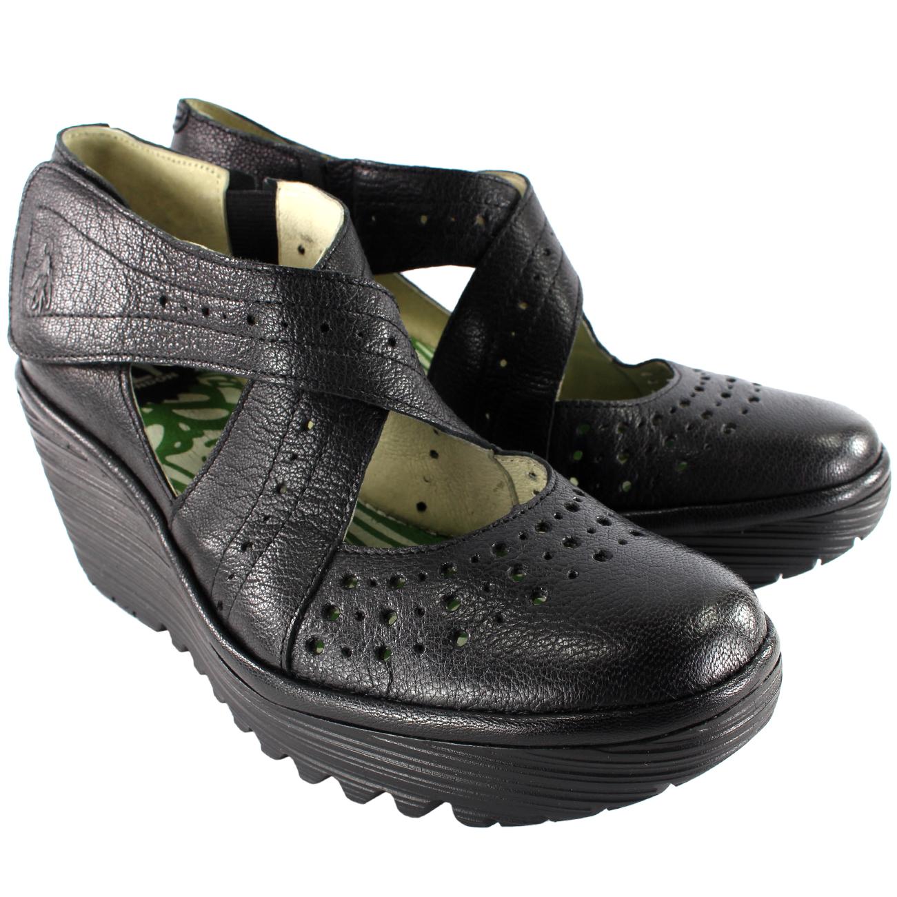 Fly London Yepe Wedge Heel Sandals