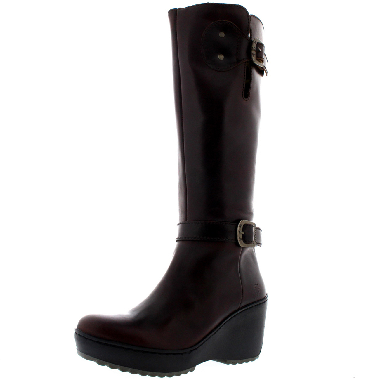 womens fly mlea rug leather winter warm knee high
