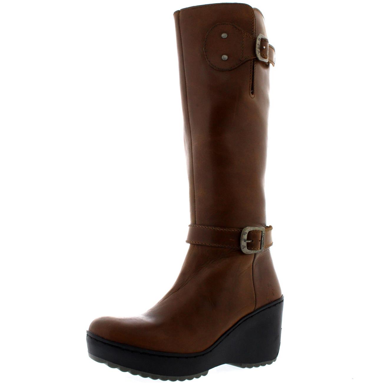 womens fly mlea rug leather winter warm knee high