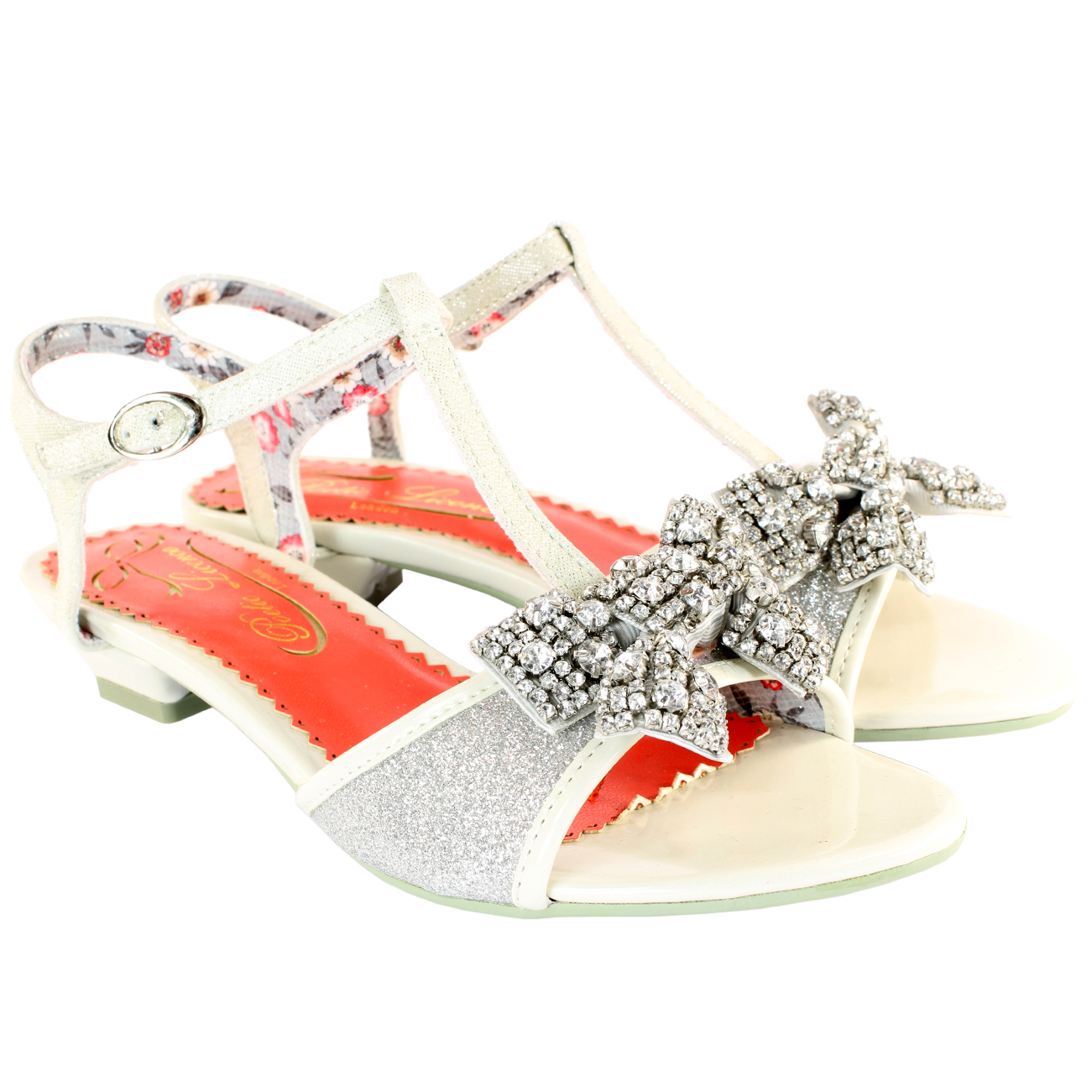 Poetic Licence Abbie Road Diamante Sandals