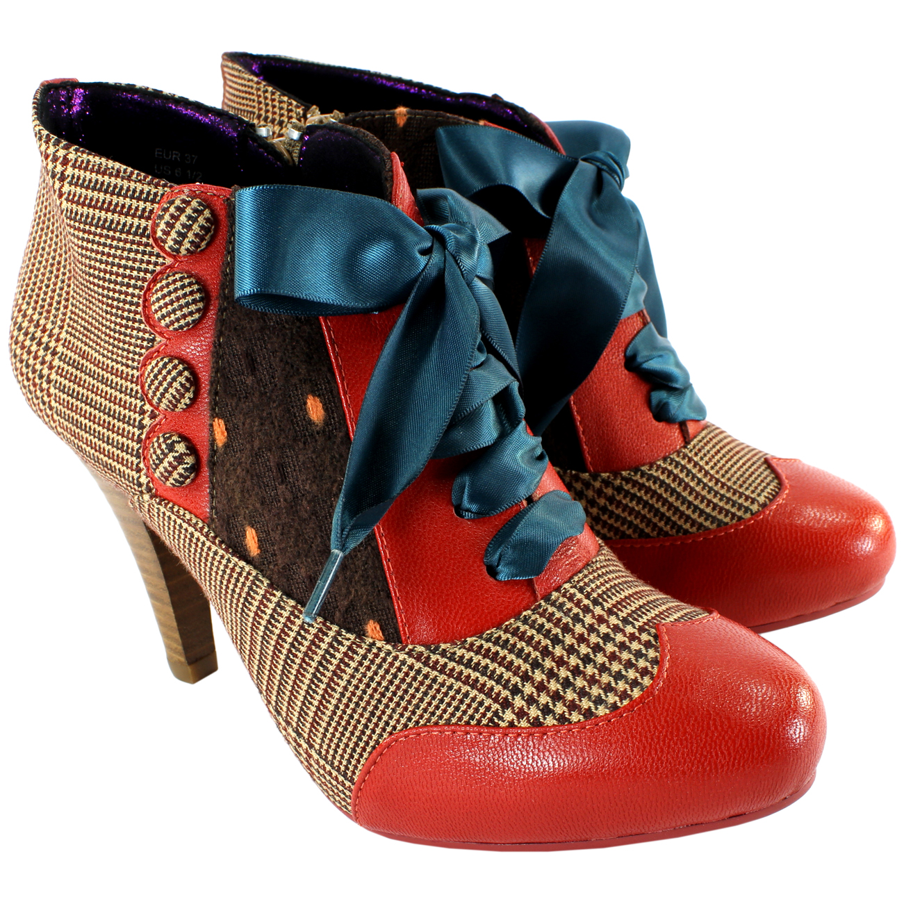 Poetic Licence Betseys Buttons Ankle Boots