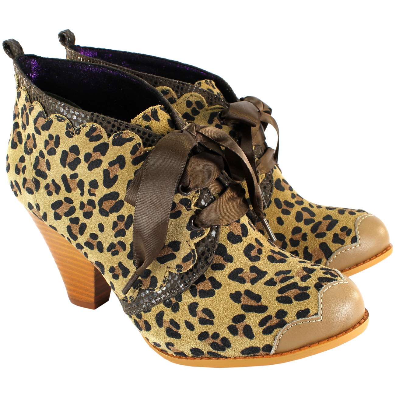 Poetic Licence Birdie Booty Mid Heel Ankle Boots