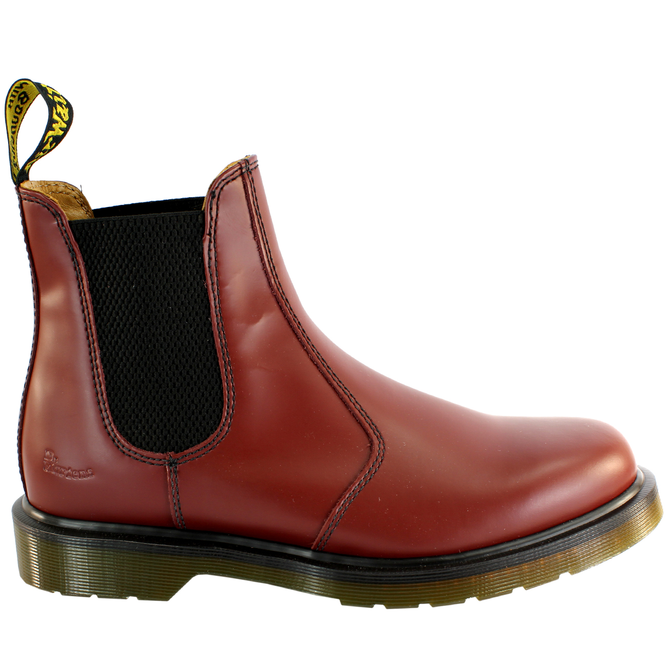 womens dr martens airwair leather chelsea style low heel. Black Bedroom Furniture Sets. Home Design Ideas