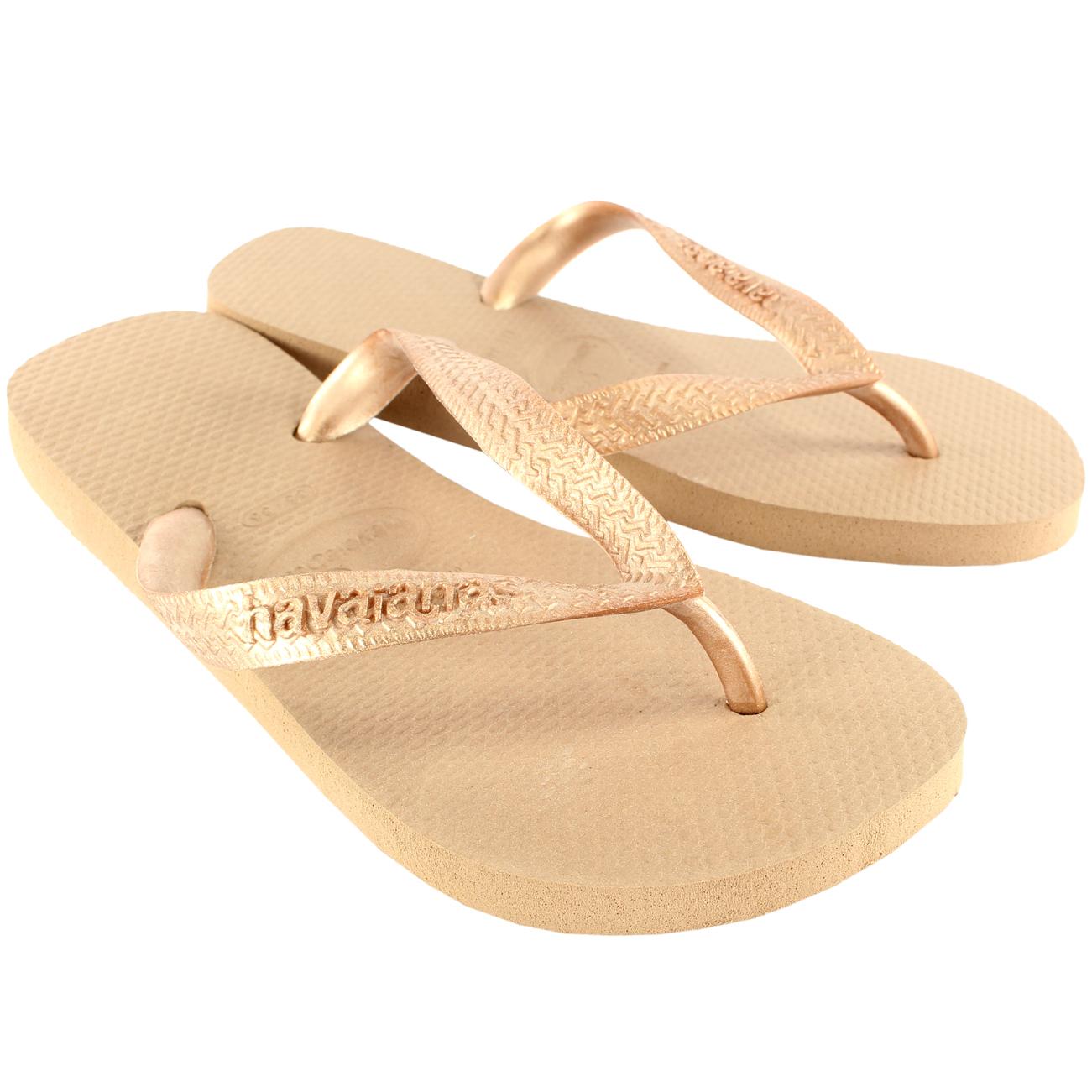 Havaianas Top Metallic Flip Flops