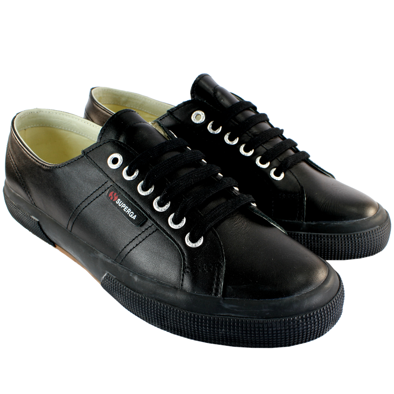 Superga 2750 Leather Trainers