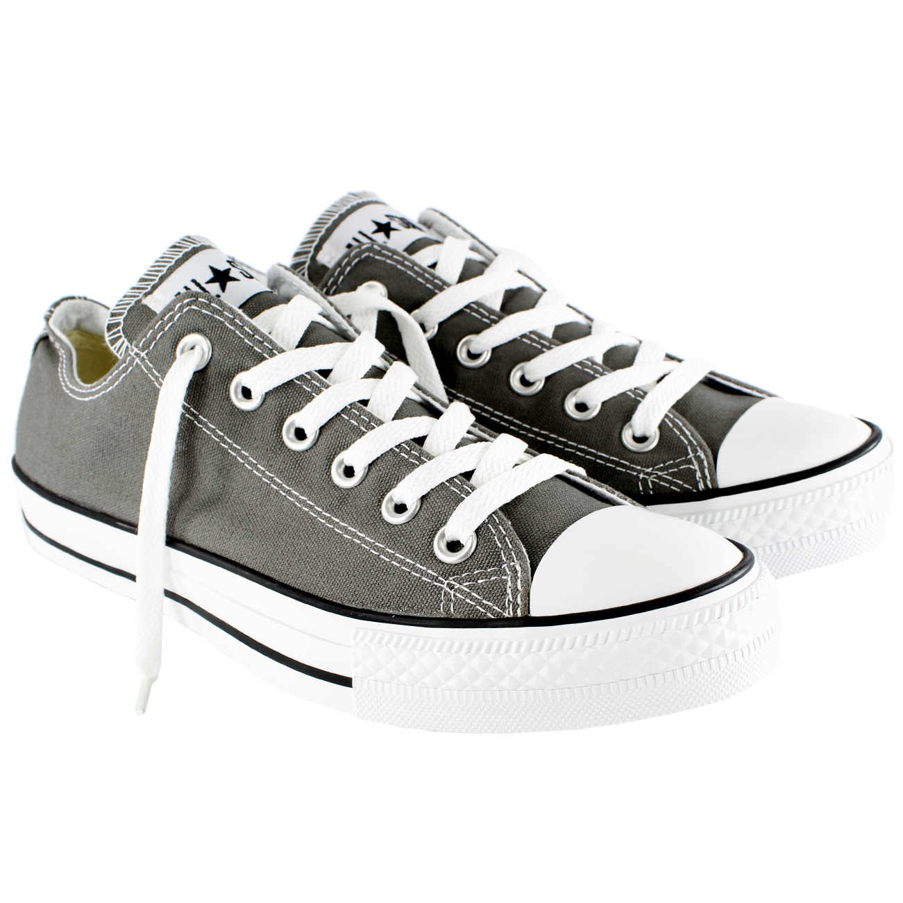 womens converse all star ox low chuck taylor chucks sneaker trainer uk sizes 3 9 ebay. Black Bedroom Furniture Sets. Home Design Ideas