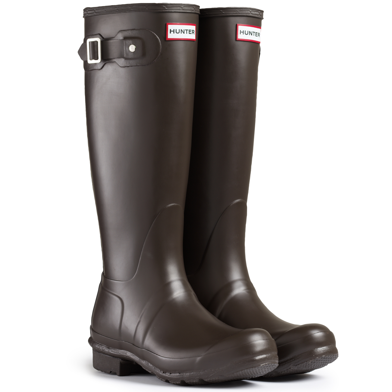 Unique WOMENS HUNTER WELLINGTON BOOTS ORIGINAL SHORT RAIN SNOW WELLIES LADIES UK 3-8 | EBay