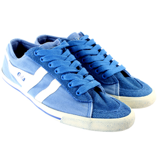 Gola Quota Retro Suede Trainers