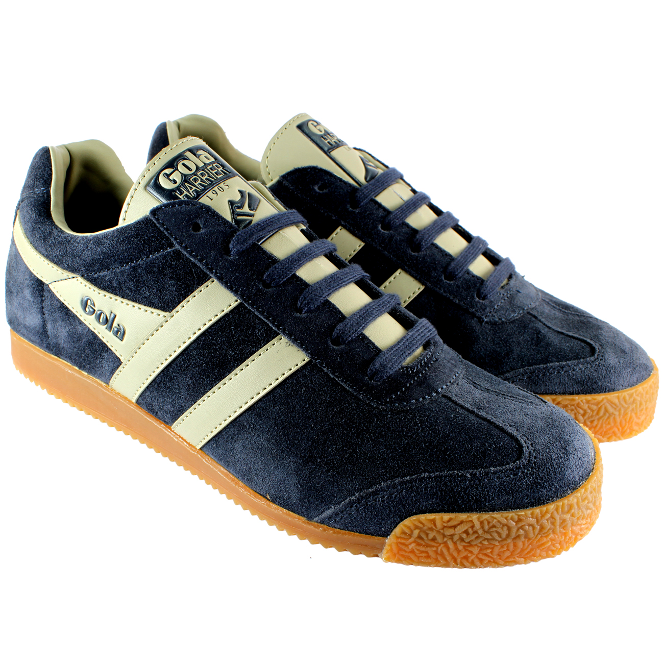 Gola Harrier Premium Flat Trainers