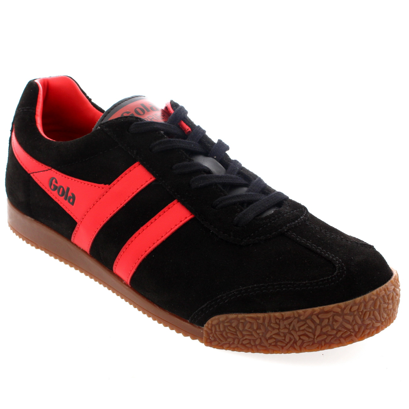 Gola Harrier Classic Suede Trainers