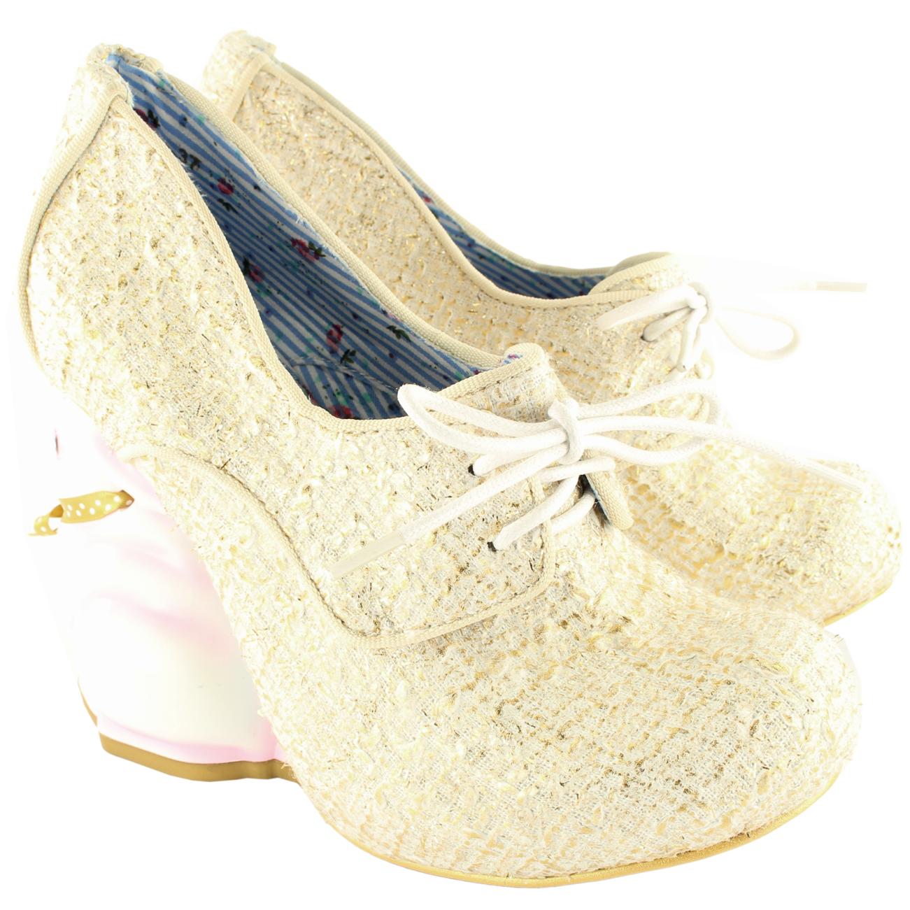 Irregular Choice Flopsy Court Shoes