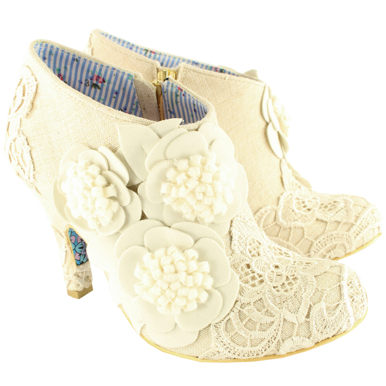 Irregular Choice Cheeky Moose Mid Heels