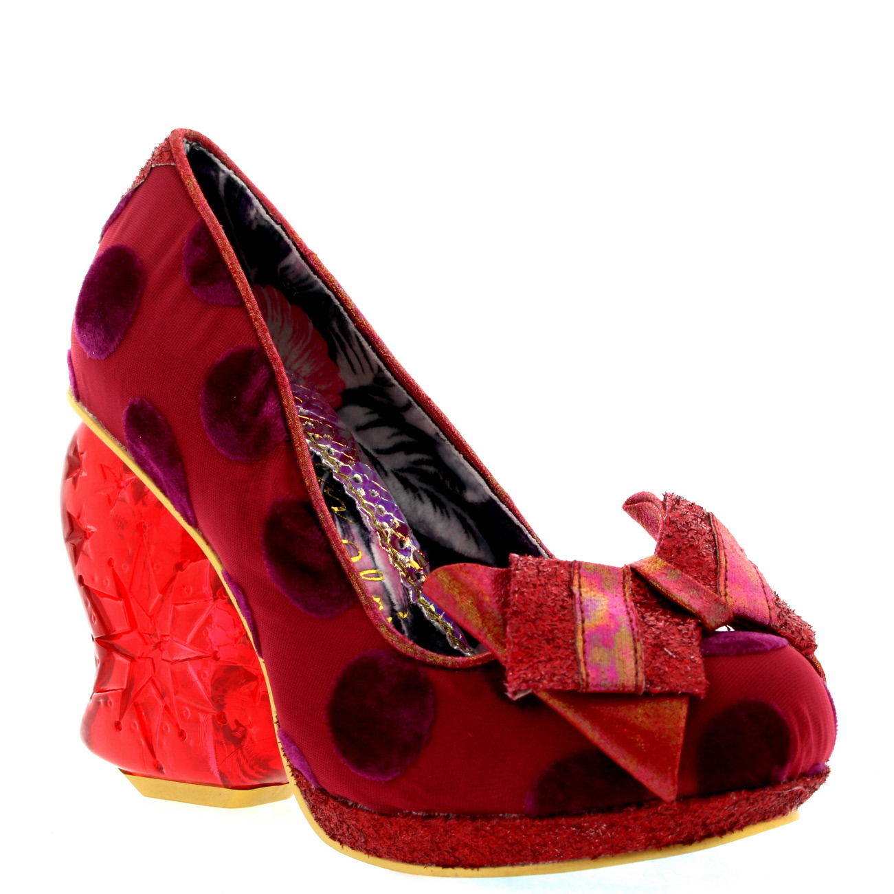 Irregular Choice Strawberry Fudge